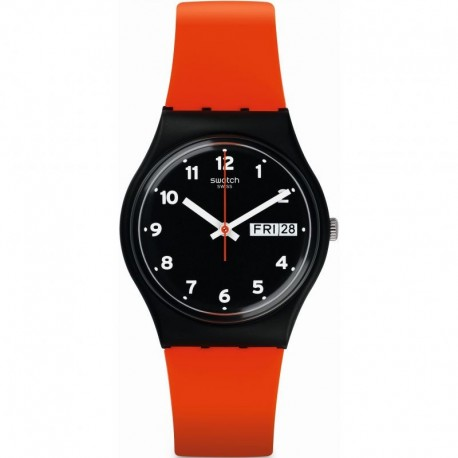 MONTRE SWATCH  RED GRIN GB754