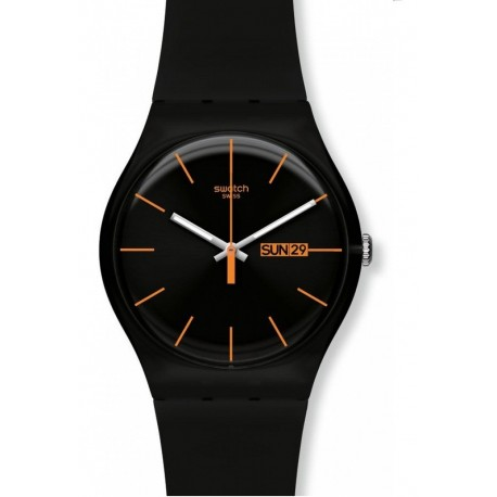 MONTRE SWATCH DARK REBEL SUOB704