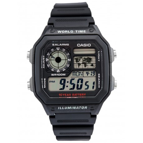 CASIO HOMME  AE-1200WH-1AVDF