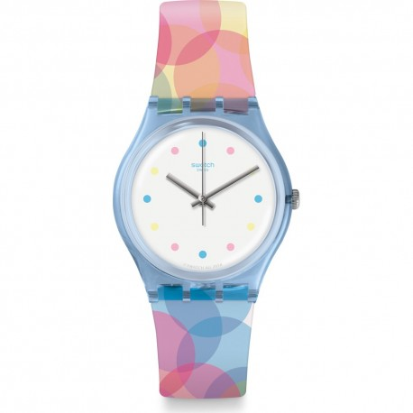 Swatch Montre Femme - GS159 - Bicolor - Garantie 1 An