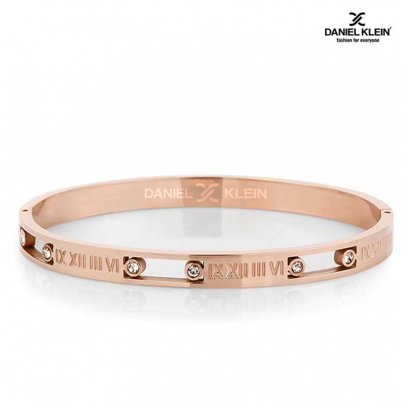 BRACLET PLAQUE - OR DANIEL KLEIN