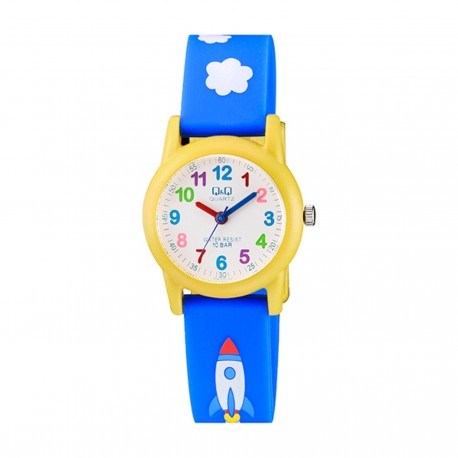 Q&Q Montre Enfant VR99J003Y WATER RESIST 100M