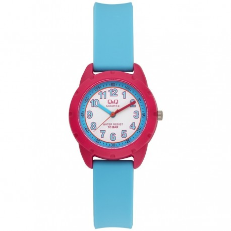 Q&Q Montre Enfant VR97J004Y WATER RESIST 100M
