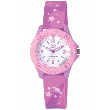 Q&Q Montre Enfant VQ96J020Y WATER RESIST 100M