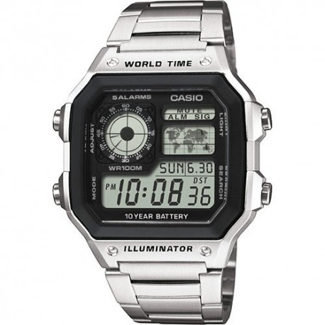 CASIO Montre Homme AE-1200WHD-1AVDF