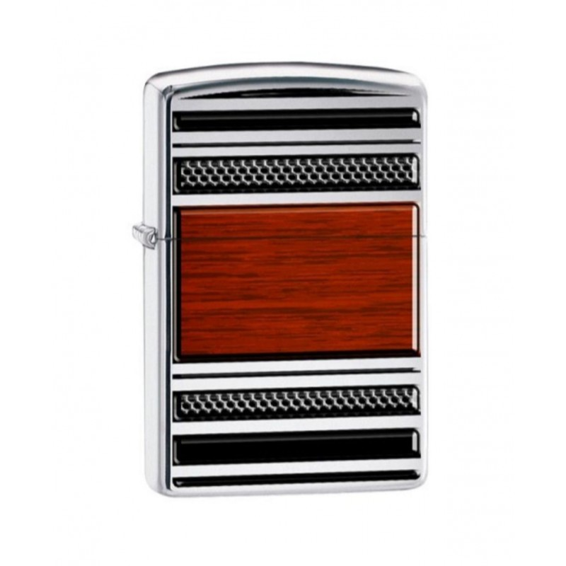Briquet ZIPOO STEEL AND WOOD 28676