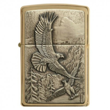Briquet ZIPPO WHERE EAGLES DARE 20854