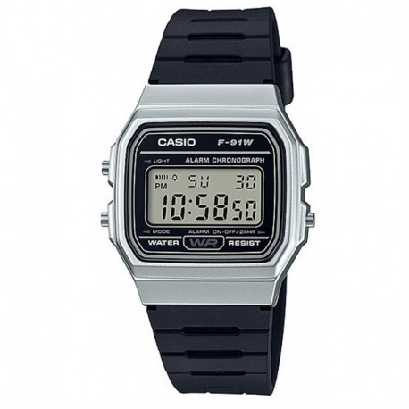 CASIO Montre Unisexe F-91WM-7ADF