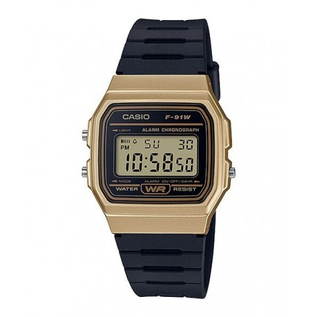 CASIO Montre Unisexe F-91WM-9ADF