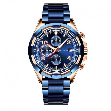 Mini Focus Montre Homme MF0198G-01 Chronographe