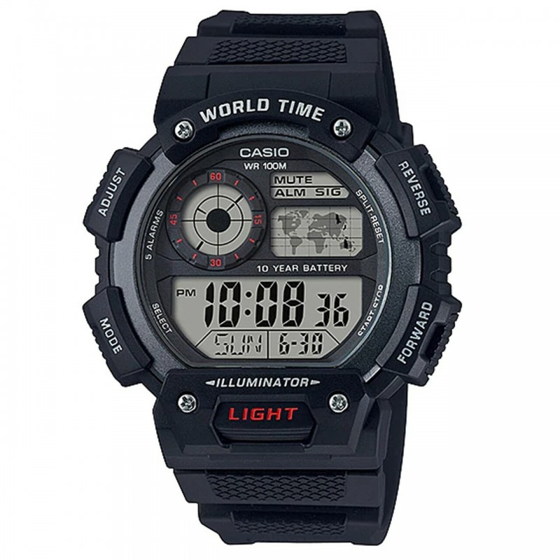 CASIO Montre Homme AE-1400WH-1A