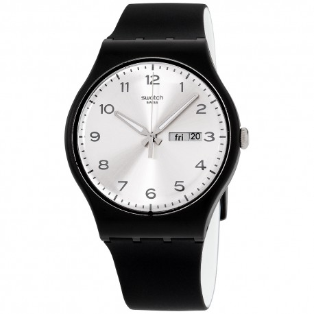 MONTRE SWATCH SILVER FRIEND SUOB717