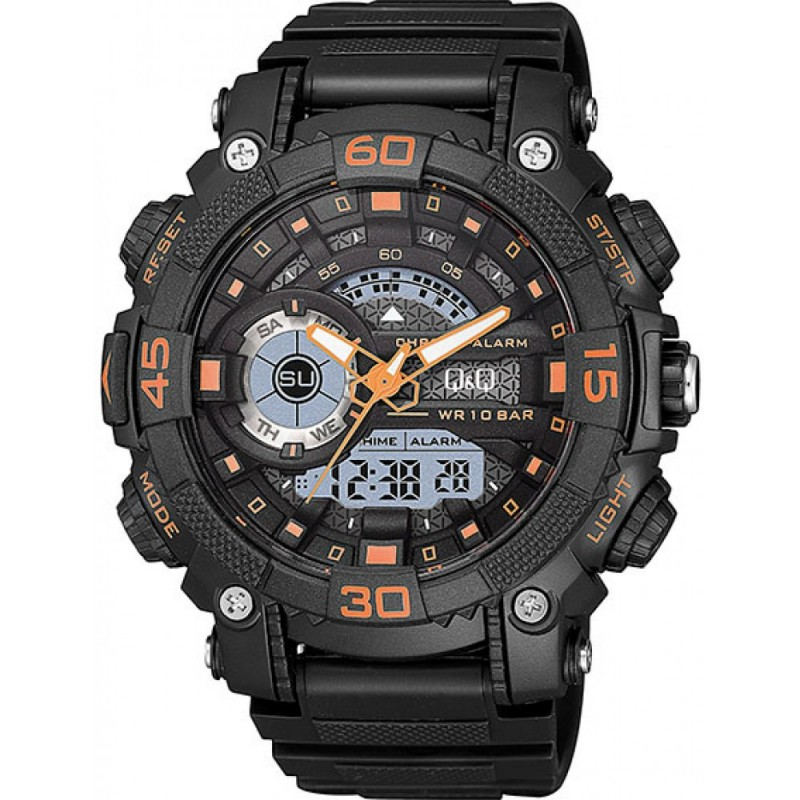Q&Q Montre Homme GW87J009Y WATER RESIST